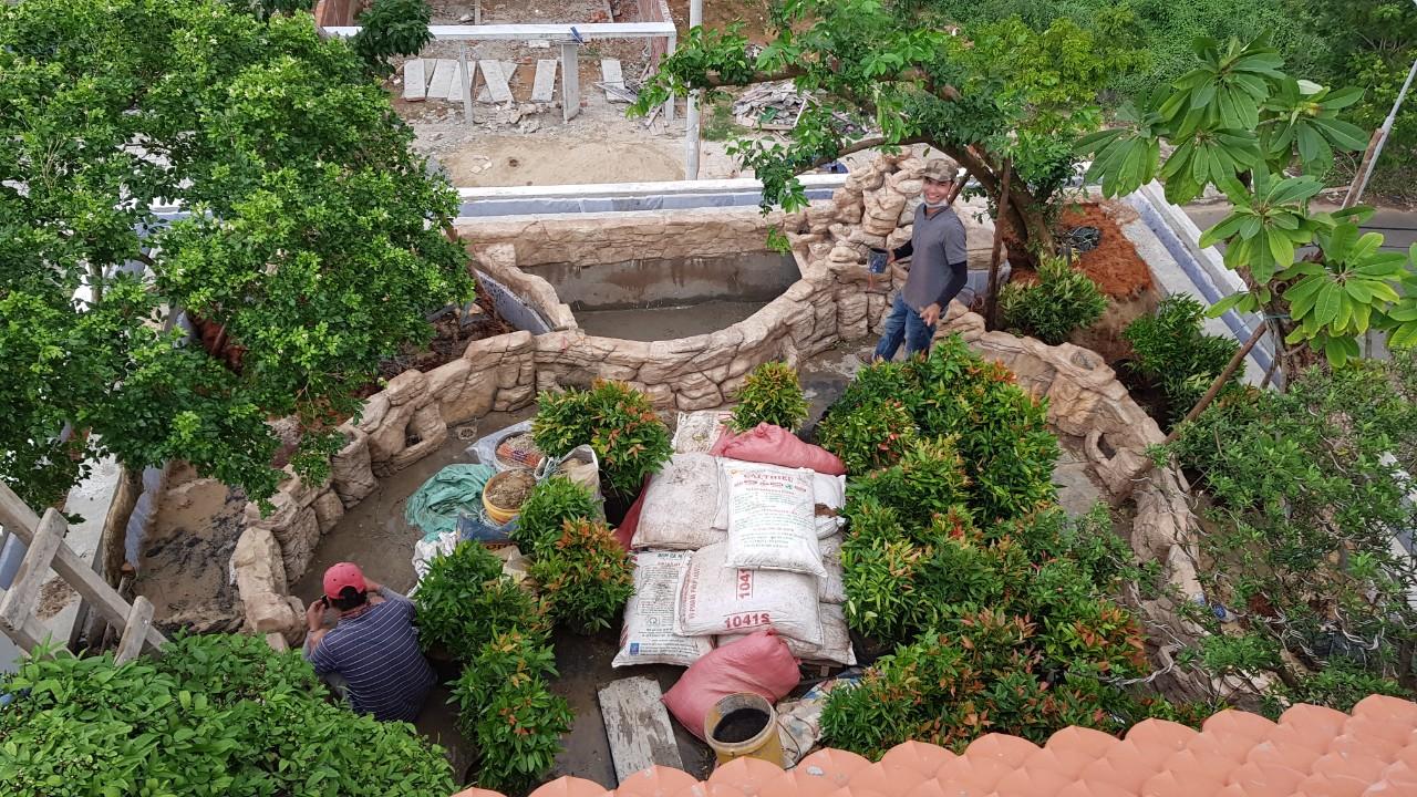 Chống thấm trần nhà, sân thượng, vườn trên mái